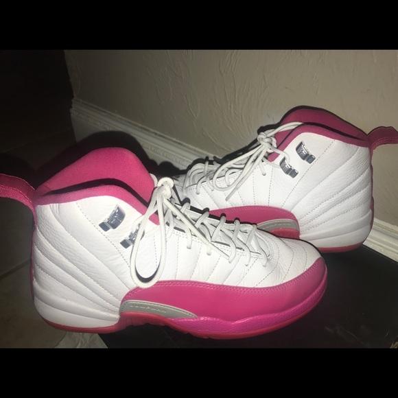 designer fashion 6e73d 26290 Jordan 12 Dynamic pink